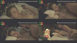 Marina Provezzano nua no filme O grande circo mistico