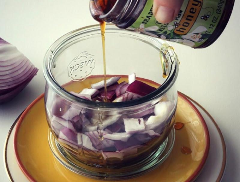 лук с мёдом от кашля