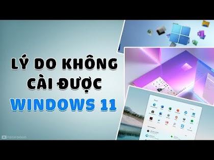 Lý do vì sao Máy tính bạn không cài được Windows 11