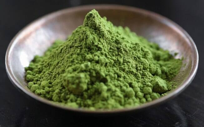 Matcha, da mesma planta do chá-verde. Foto: Thinkstock/Getty Images