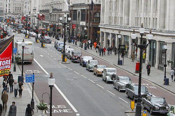 Παρέλαση Rolls-Royce Λονδίνο