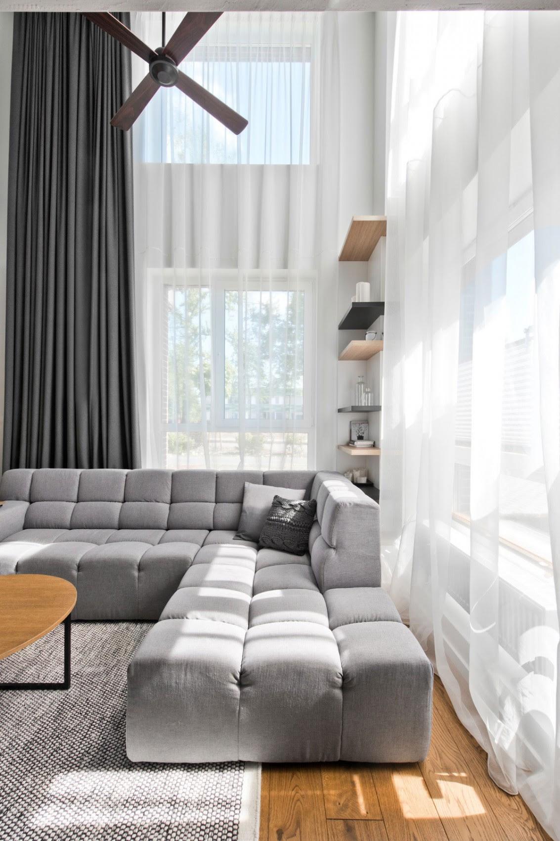 Scandinavian interior design in a beautiful small ...