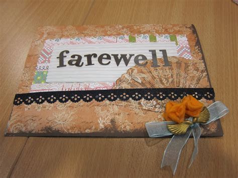DREAMS ARE MADE OF THESE.: Farewell gifts