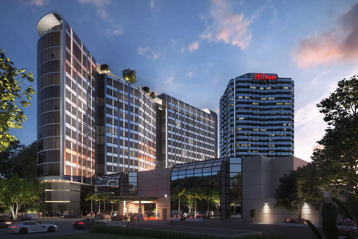 Universal Hilton Planning Huge 15 Story Expansion Curbed La