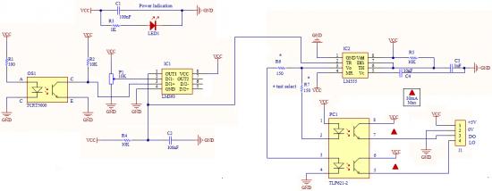 label sensor circuit
