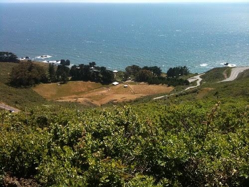 View of Slide Ranch educational farm