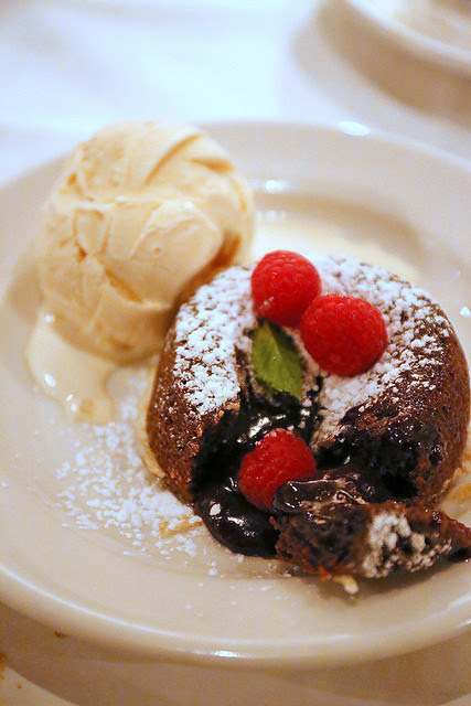 Morton's Legendary Hot Chocolate Cake