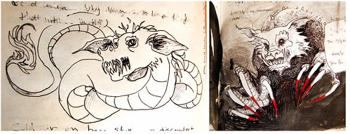 monsters in the journal