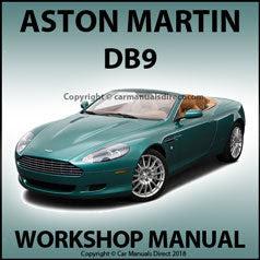 Aston    Martin    Workshop Manual  Aston Martine