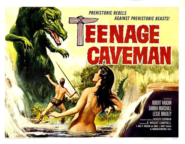 Reynold Brown - Teenage Caveman (American International, 1958) half sheet