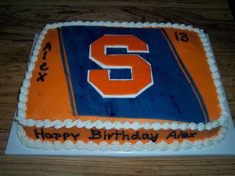 Syracuse Logo Birthday Cake   Cakes, Cupcakes & Cookies