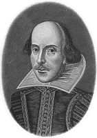Shakespeare portrait, from Helmolt, H.F., ed. History of the World. New York: Dodd, Mead and Company, 1902