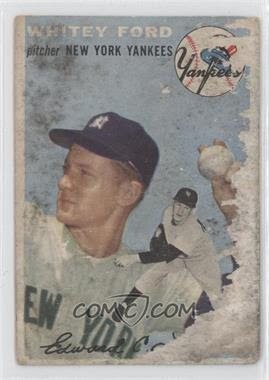 1954 Topps #37 - Whitey Ford - Courtesy of CheckOutMyCards.com