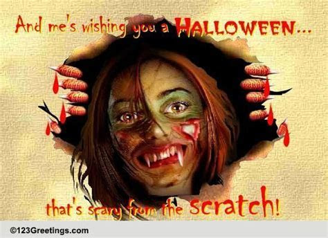 Scary From The Scratch! Free Horror eCards, Greeting Cards