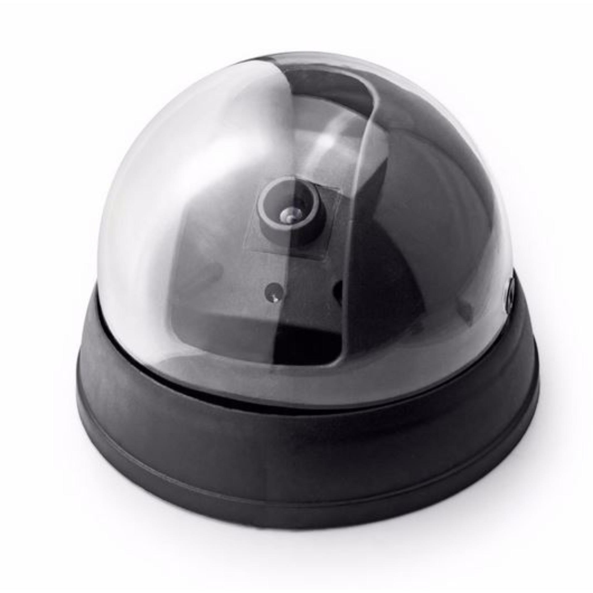 Tanpa Kabel Unique Dummy CCTV LED Light - Replica Dome CCTV - CCTV Palsu - Fake Kamera CCTV