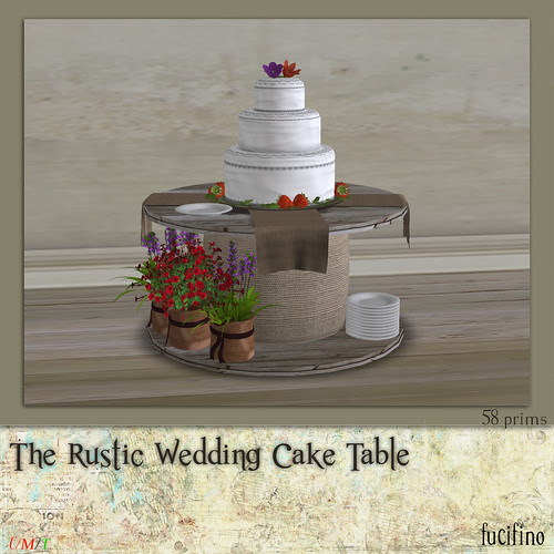 The Rustic Wedding Cake Table for Moody Mondays 11/7