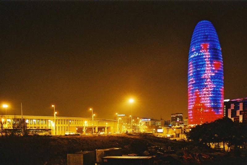 <p>La torre Agbar, en Barcelona.</p>