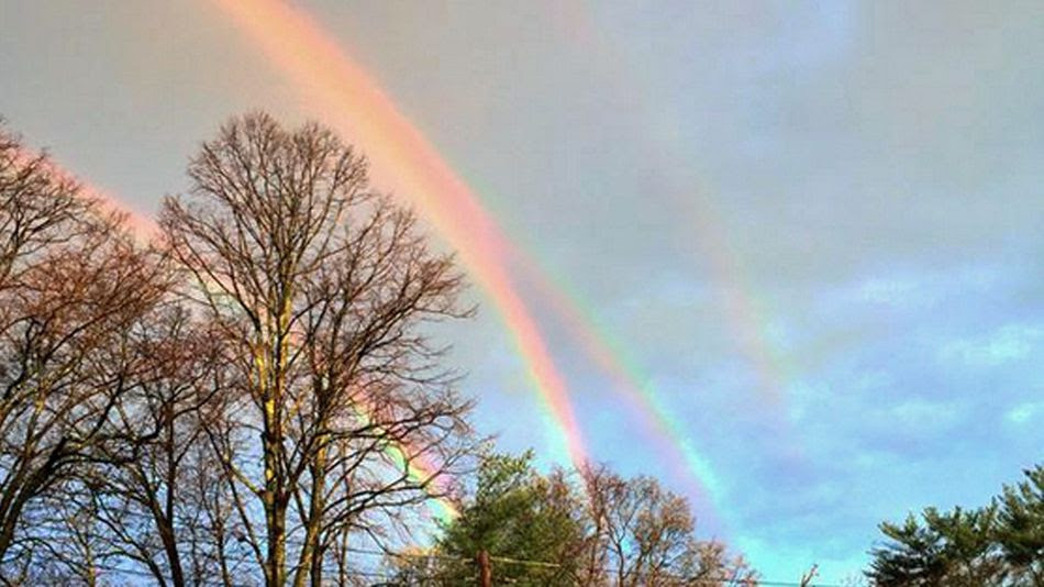 Quadruple-rainbow