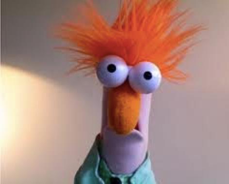 Muppet Beaker