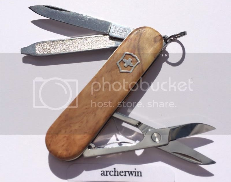 Archerwin S Swiss Army Knives Wood Scales Victorinox