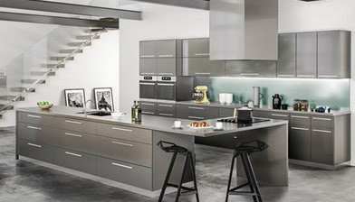 Buy Seattle Gray Discount RTA Kitchen Cabinets Wall Cabinets