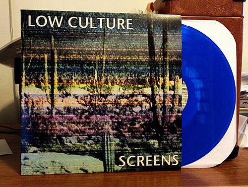 Low Culture - Screens LP - Blue Vinyl (/200) by Tim PopKid