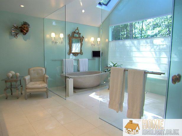 Modern Blue Bathroom Designs & Ideas « Home Highlight