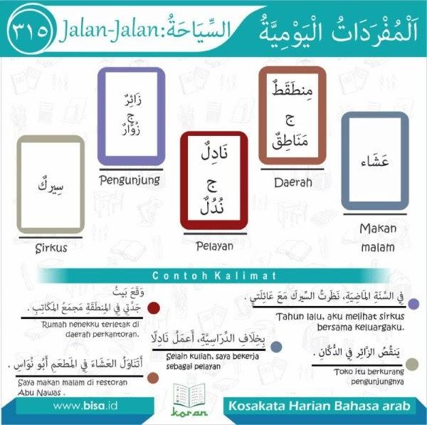 Kosa Kata 1145 - Bahasa Arab