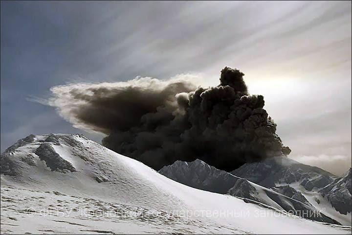 kambalny eruption march 2017