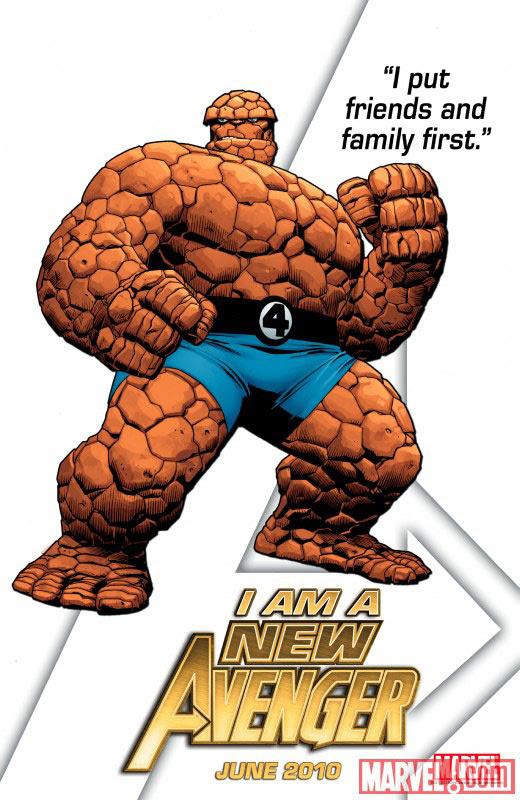 I am a New Avenger