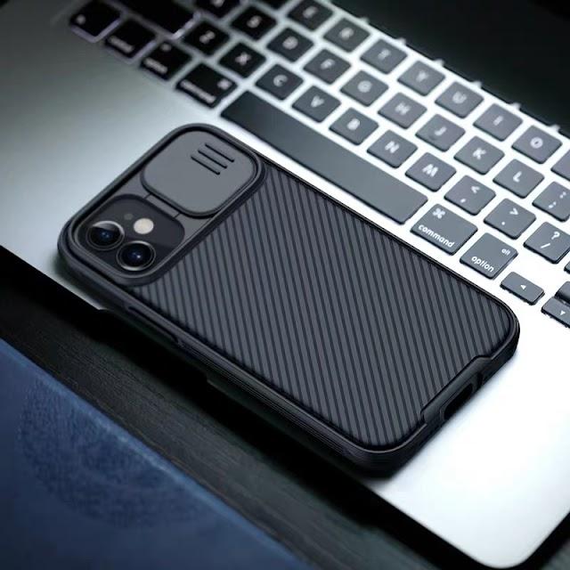 【Nillkin 滑蓋保護電話殼  iPhone 13 系列】全方位防撞、主打鏡頭保護  新品黑色登場