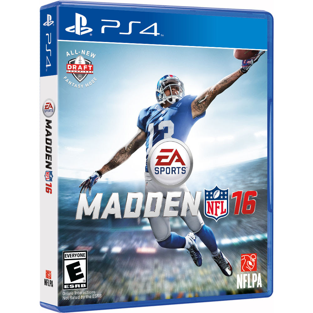 Electronic Arts Madden NFL 16 PS4 73380 BH Photo Video