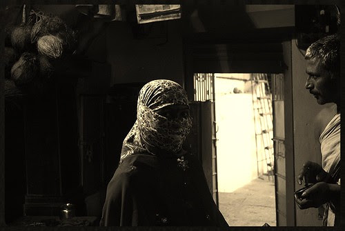 The Hindu Niqab In Latur by firoze shakir photographerno1