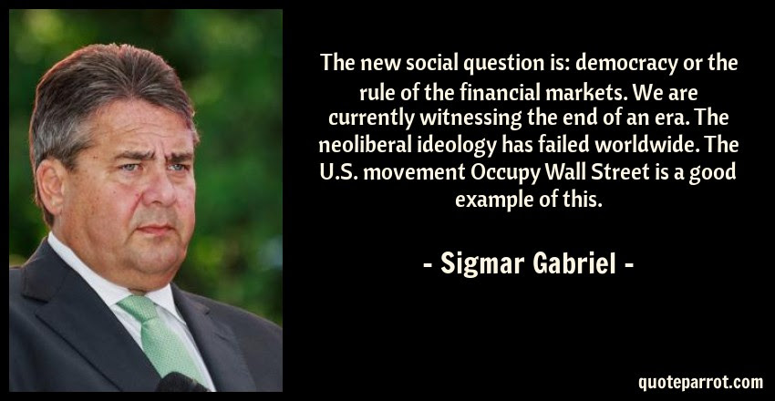 The New Social Question Is Democracy Or The Rule Of Th By Sigmar
