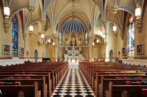 fileinterior  st andrews catholic church  roanoke
