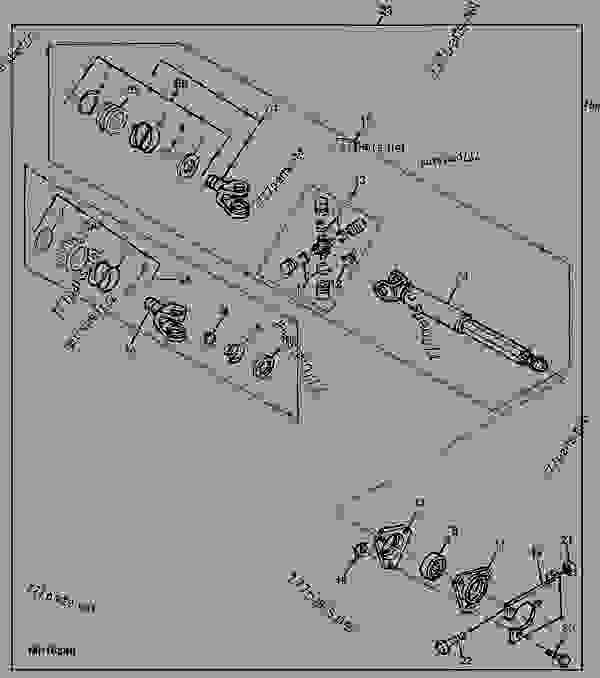 34 John Deere 445 Parts Diagram