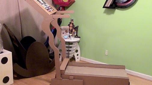 Cardboard Treadmill
