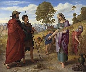 Julius Schnorr von Carolsfeld: Ruth in Boaz's ...