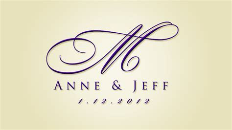How to design your own Wedding Logo ? for free online