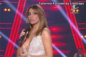 Catarina Furtado sensual em vários momentos na Rtp