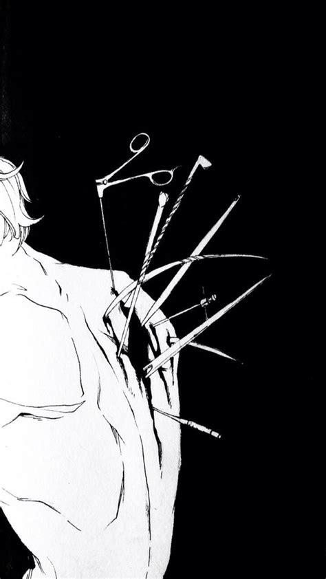anime black  white   aesthetic anime anime