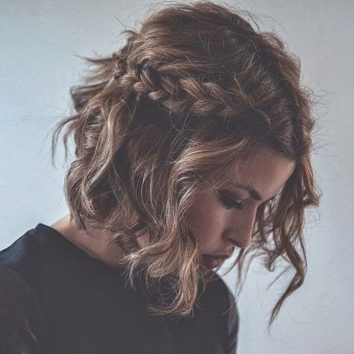 Howto How To French Braid Short Hair For Beginners