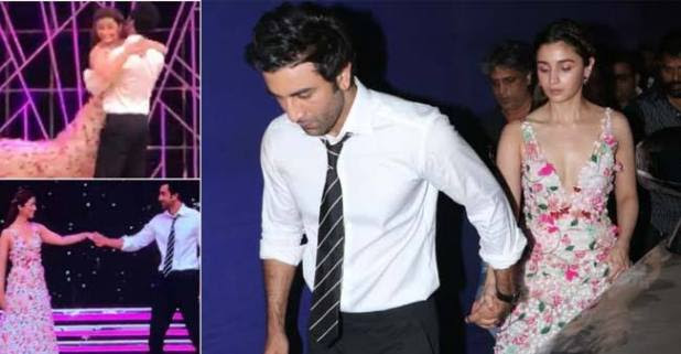Ranbir Kapoor and Alia Bhatt leave fans swooning at a recent award function