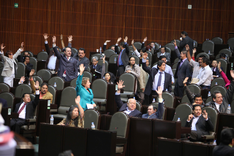 Sesión en la Cámara de Diputados. Foto: Benjamín Flores.