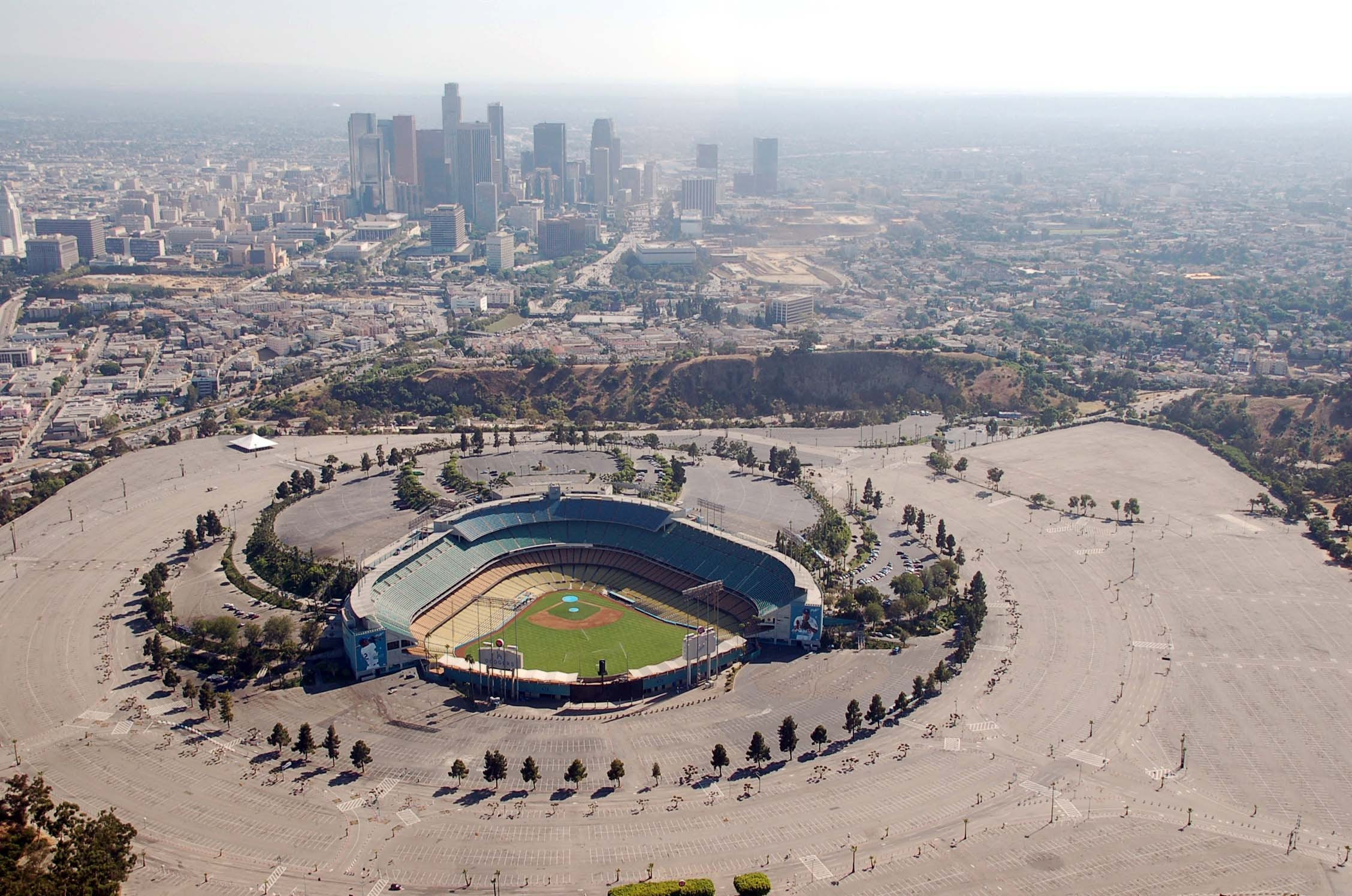 Baseball Los Angeles Los Angeles Dodgers Stadium Major League