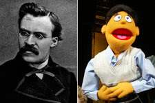 "Friedrich Nietzsche, the German philosopher, and the puppet Princeton of ""Avenue Q"" have addressed the importance of purpose."