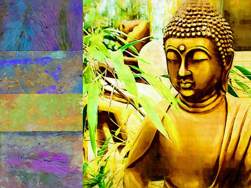 Zen Landscape -Ricki Mountain-Health Care art
