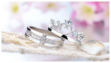 CZ Diamond Cross Wedding Band   Open Heart / Crown
