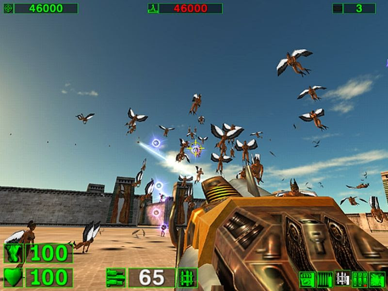 Resultado de imagen de serious sam the first encounter