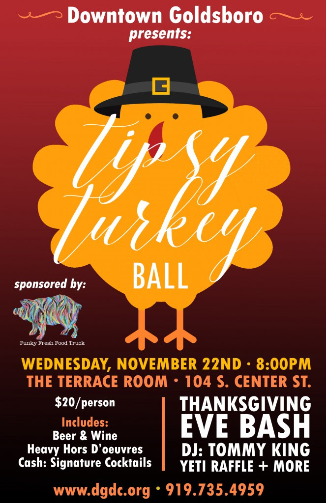 Tipsy Turkey Ball Dgdc